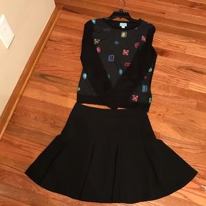 Cece skirt and top set